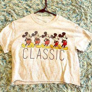 Forever 21 Disney cropped tee